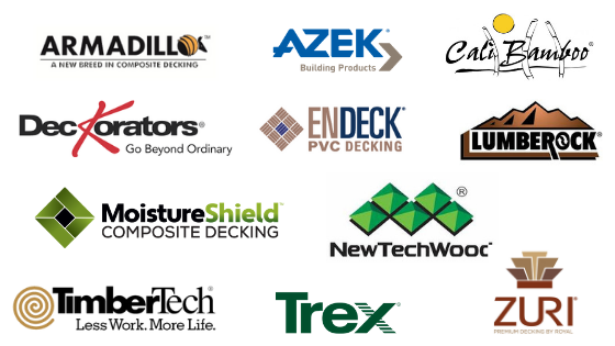 Brands of Composite Decking