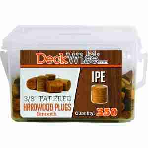 "DeckWise® 3/8"" Standard Tapered Plugs"