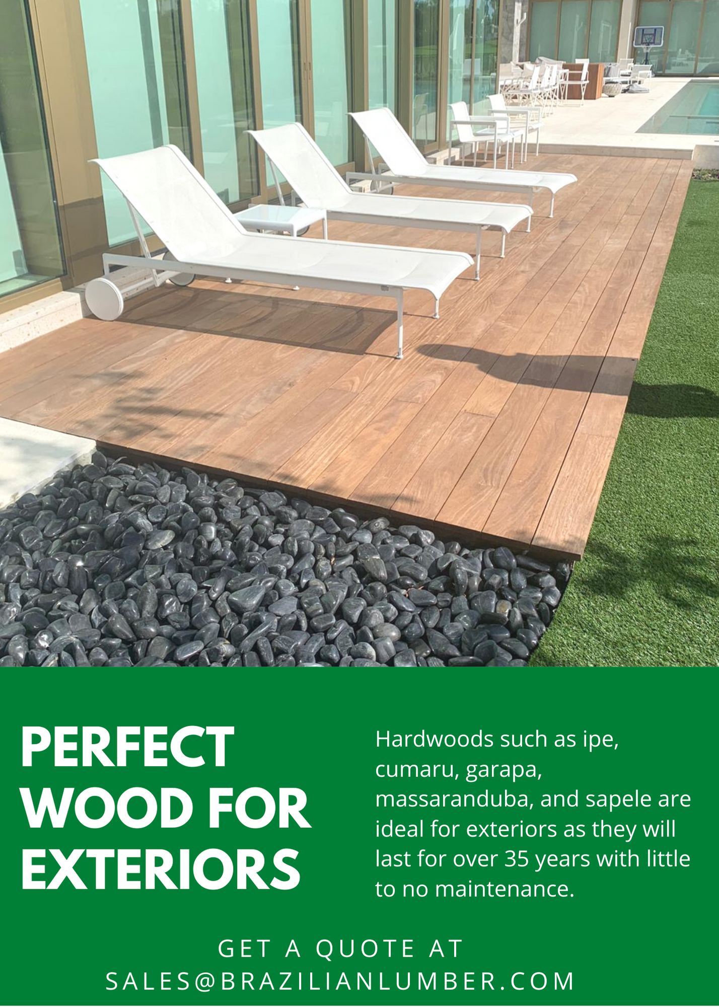 Perfect Wood For Exteriors