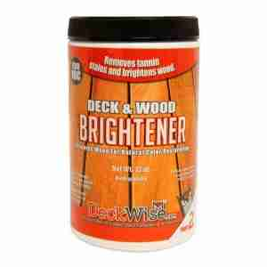 DeckWise Deck and Wood Brightener Part 2